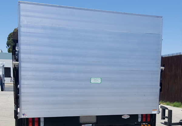 Tommy Gate liftgate installation, Huntington Beach