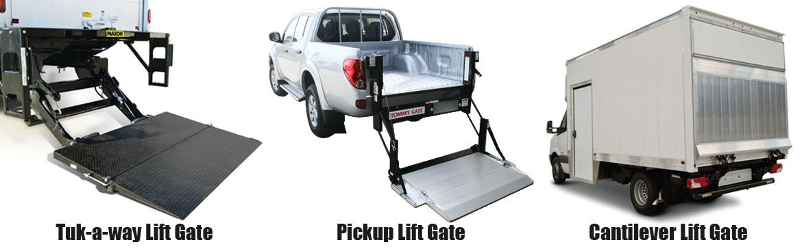 Pickup, Cantilever Lift Gate